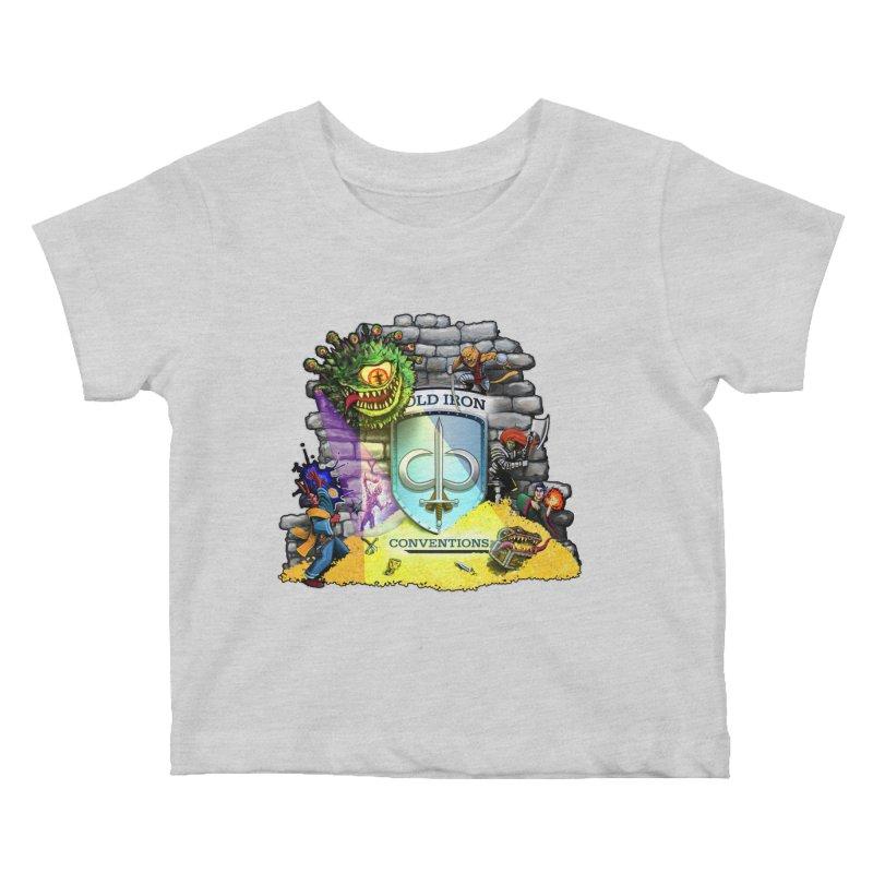 Cold Iron Beholder Kids Baby T-Shirt by Joe Abboreno's Artist Shop