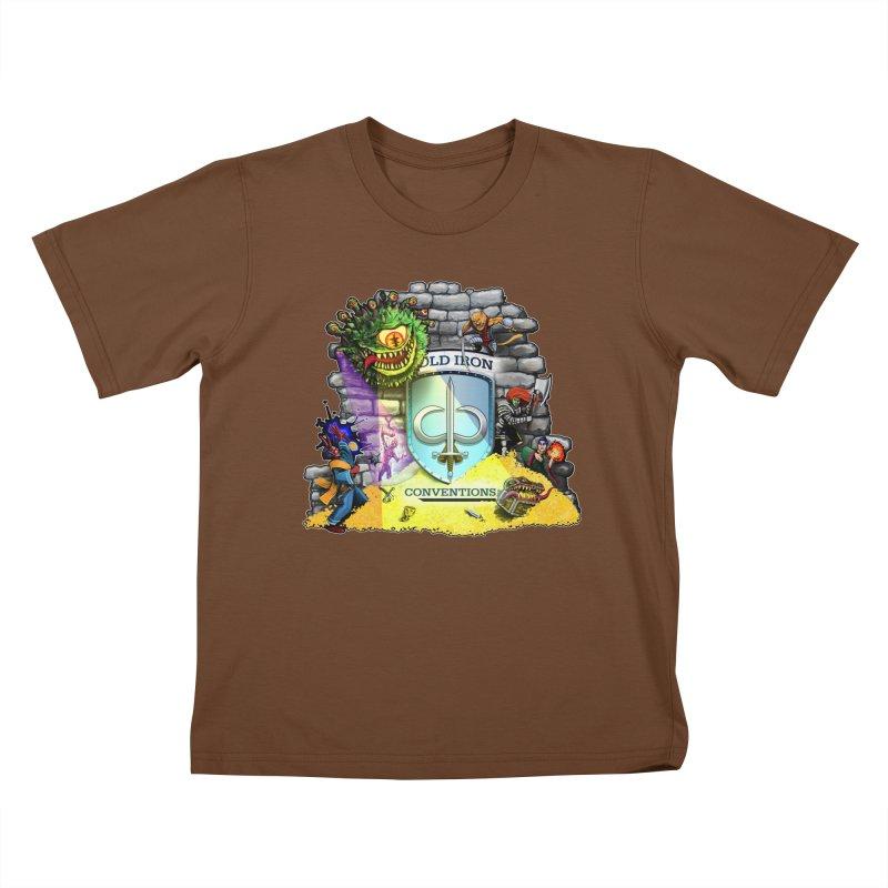 Cold Iron Beholder Kids T-Shirt by Joe Abboreno's Artist Shop