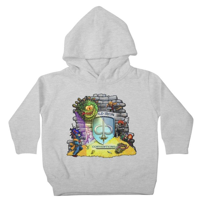 Cold Iron Beholder Kids Toddler Pullover Hoody by Joe Abboreno's Artist Shop