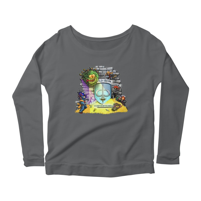 Cold Iron Beholder Women's Scoop Neck Longsleeve T-Shirt by Joe Abboreno's Artist Shop