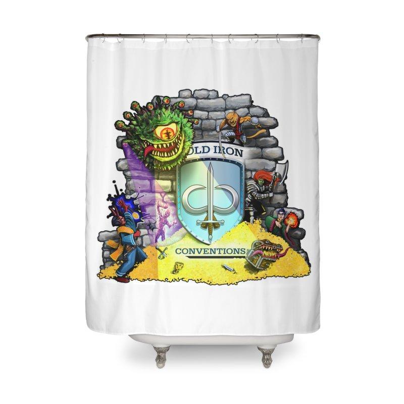 Cold Iron Beholder Home Shower Curtain by Joe Abboreno's Artist Shop