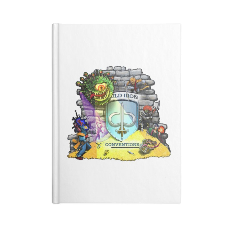 Cold Iron Beholder Accessories Lined Journal Notebook by Joe Abboreno's Artist Shop