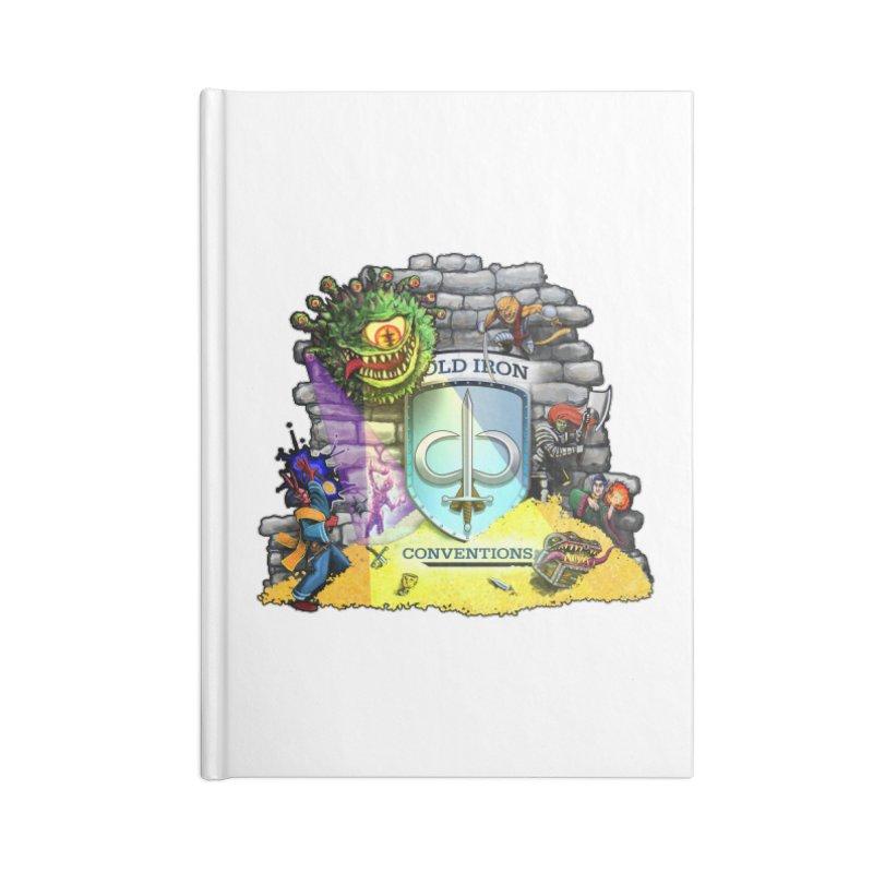 Cold Iron Beholder Accessories Blank Journal Notebook by Joe Abboreno's Artist Shop