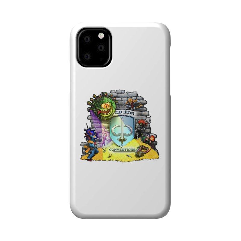 Cold Iron Beholder Accessories Phone Case by Joe Abboreno's Artist Shop