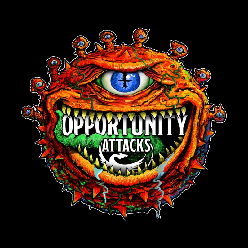 Opportunity Attacks Beholder by Joe Abboreno's Artist Shop