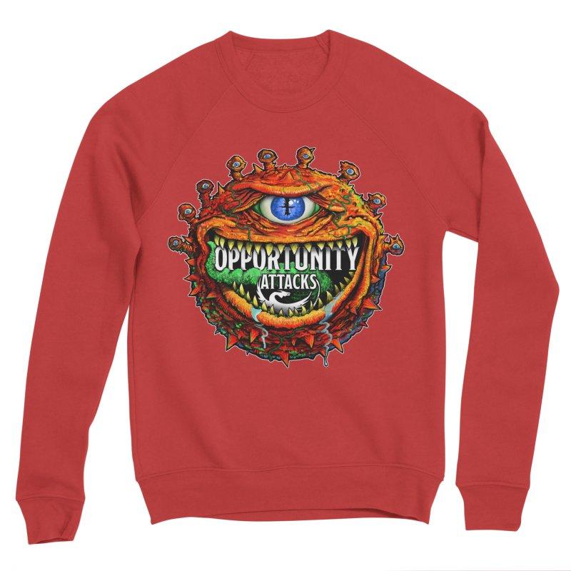 Opportunity Attacks Beholder Men's Sponge Fleece Sweatshirt by Joe Abboreno's Artist Shop