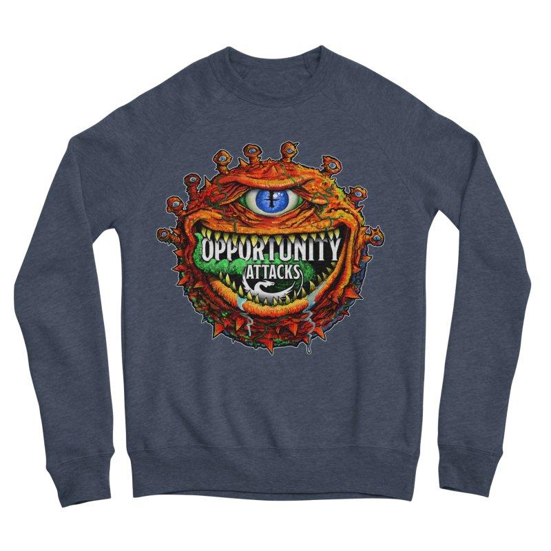 Opportunity Attacks Beholder Women's Sponge Fleece Sweatshirt by Joe Abboreno's Artist Shop