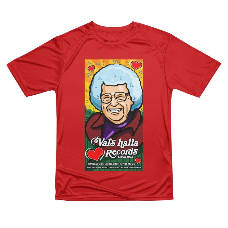 Val's Memorial Art Men's Performance T-Shirt by Joe Abboreno's Artist Shop