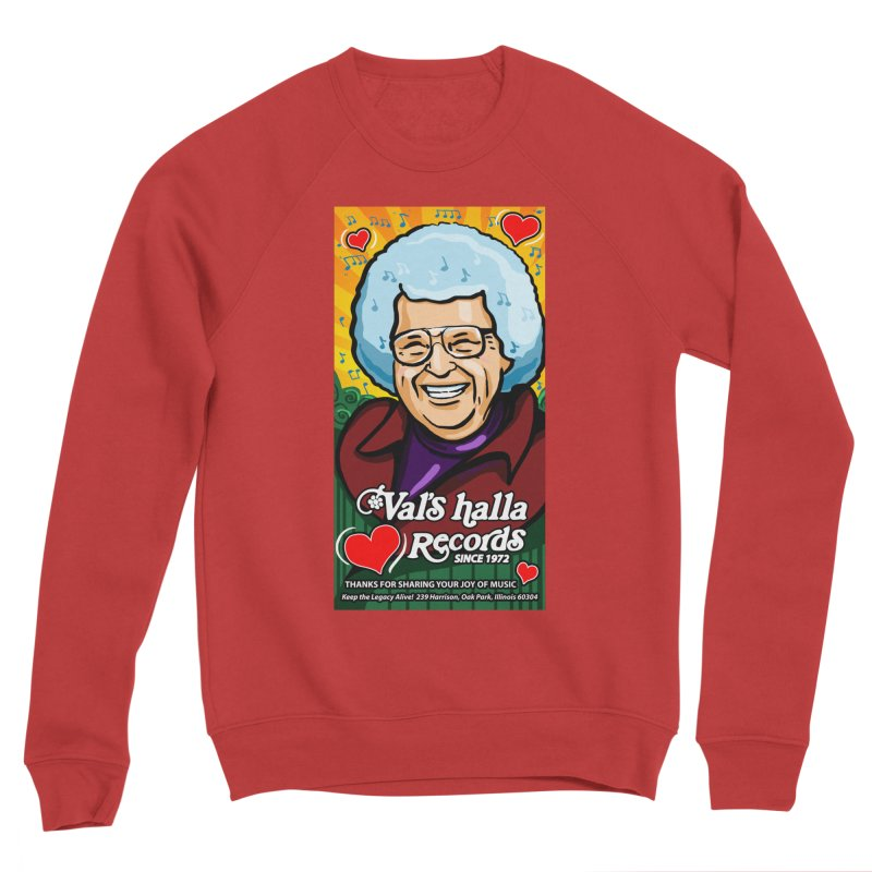 Val's Memorial Art Women's Sponge Fleece Sweatshirt by Joe Abboreno's Artist Shop