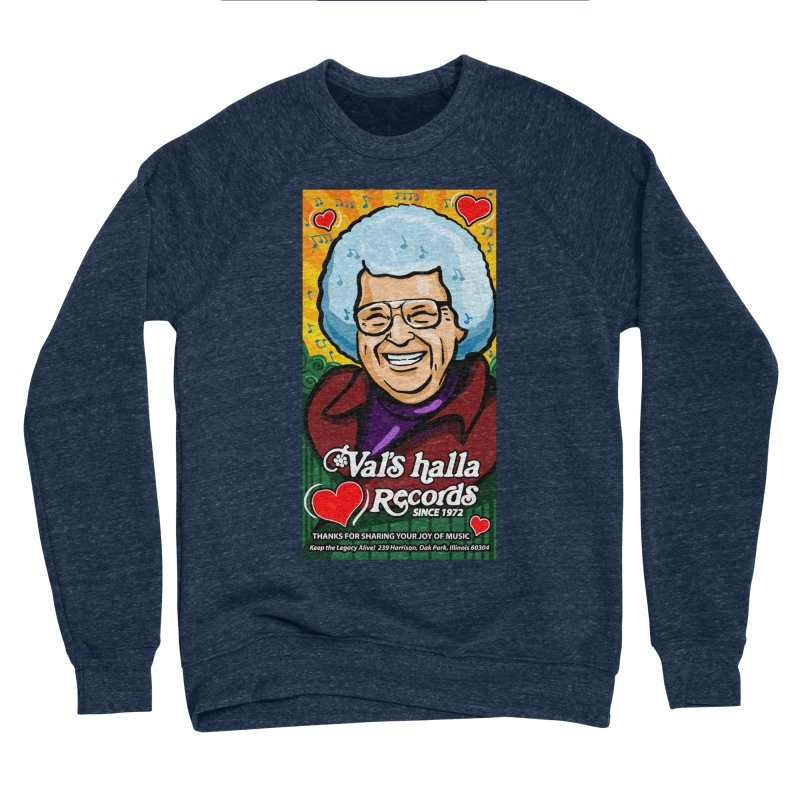 Val's Memorial Art Men's Sponge Fleece Sweatshirt by Joe Abboreno's Artist Shop
