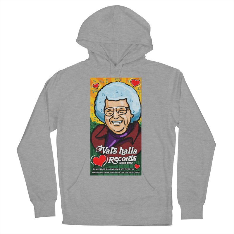 Val's Memorial Art Men's French Terry Pullover Hoody by Joe Abboreno's Artist Shop