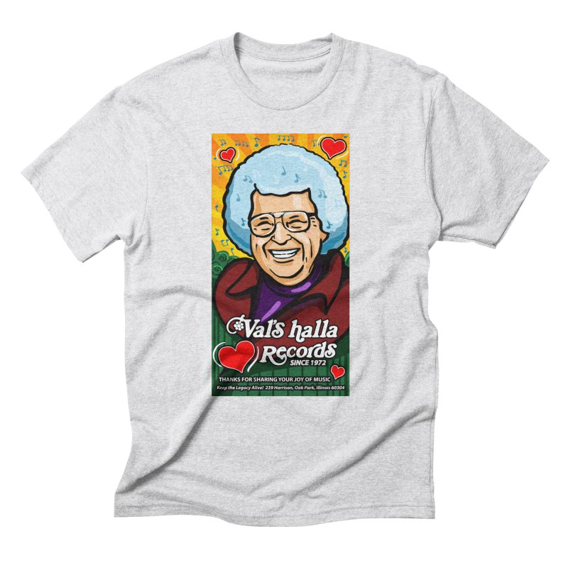 Val's Memorial Art Men's Triblend T-Shirt by Joe Abboreno's Artist Shop