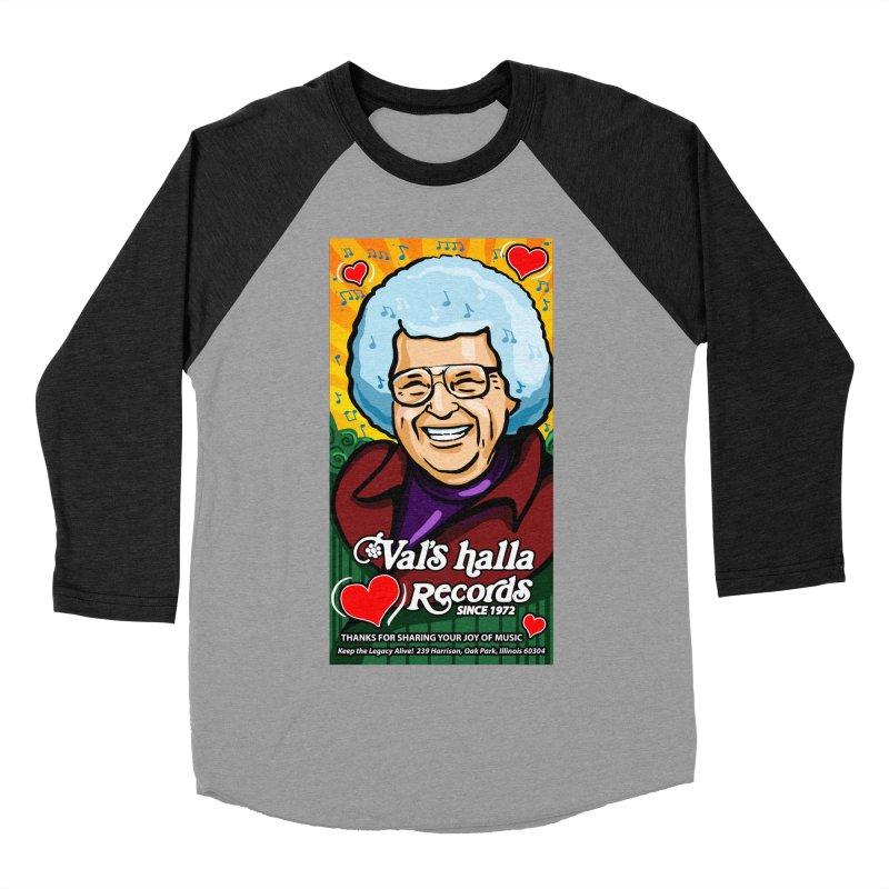 Val's Memorial Art Women's Baseball Triblend Longsleeve T-Shirt by Joe Abboreno's Artist Shop
