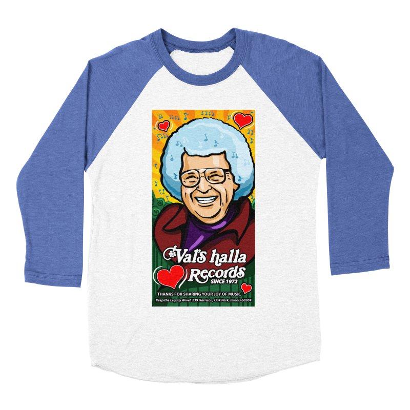 Val's Memorial Art Men's Baseball Triblend Longsleeve T-Shirt by Joe Abboreno's Artist Shop