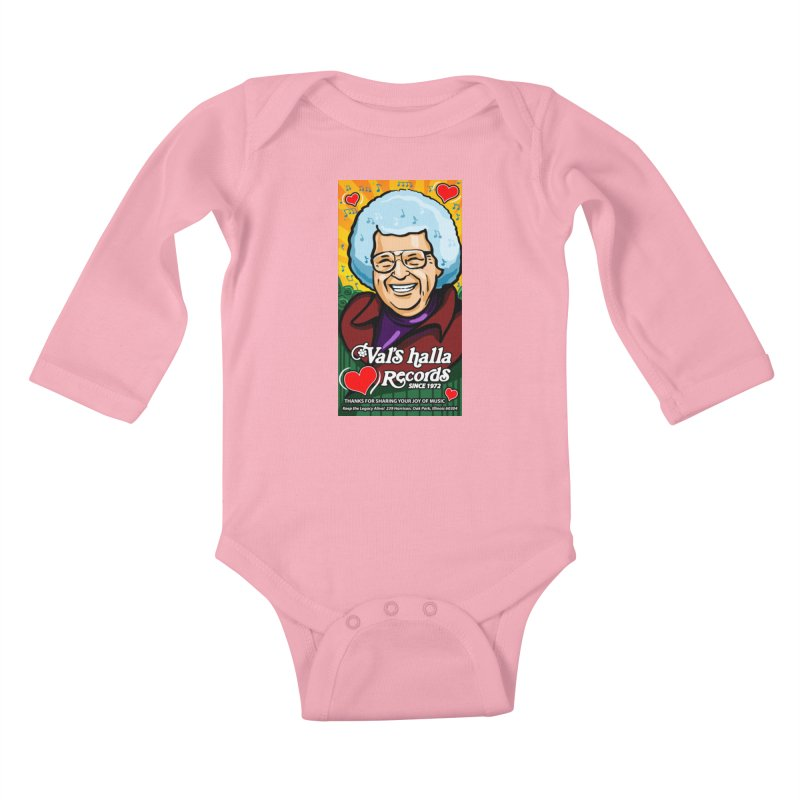 Val's Memorial Art Kids Baby Longsleeve Bodysuit by Joe Abboreno's Artist Shop