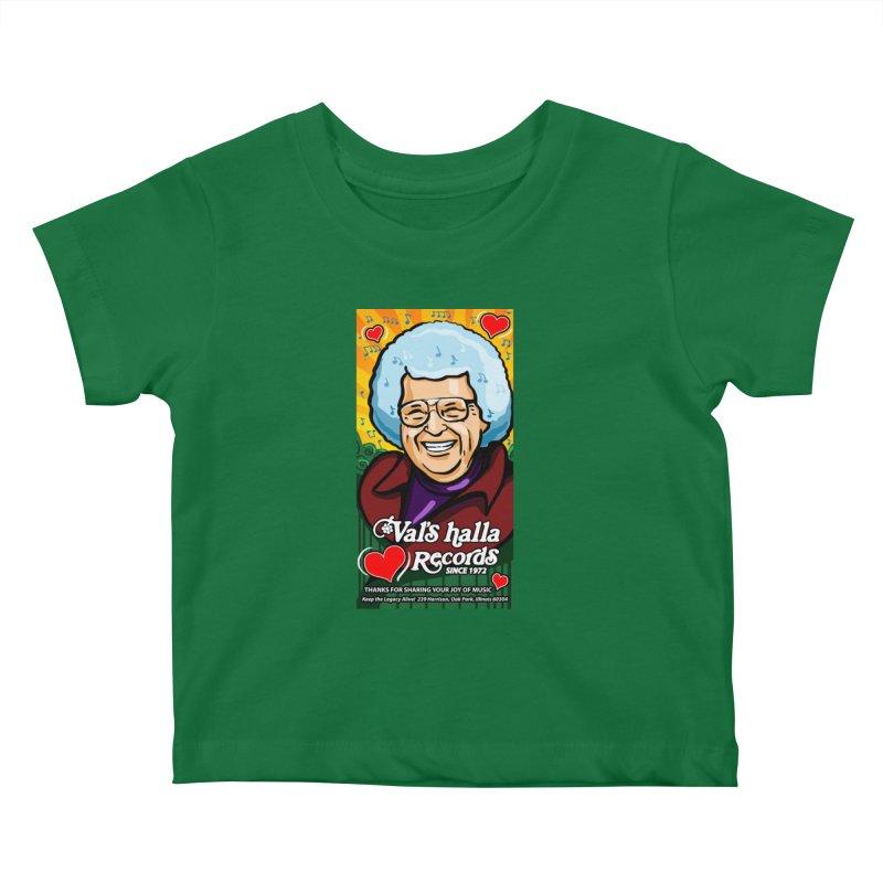 Val's Memorial Art Kids Baby T-Shirt by Joe Abboreno's Artist Shop