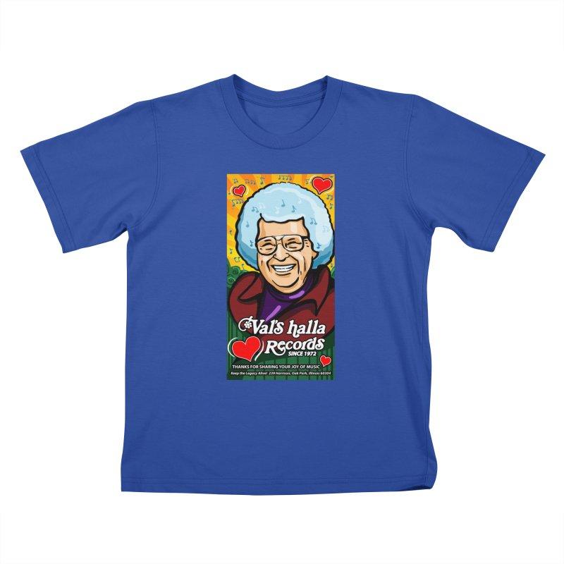 Val's Memorial Art Kids T-Shirt by Joe Abboreno's Artist Shop