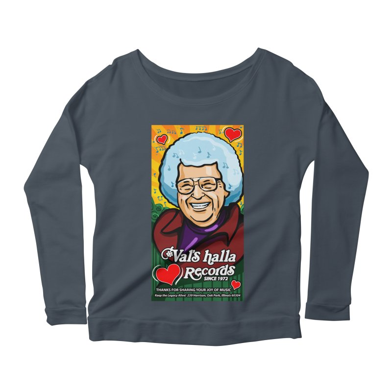 Val's Memorial Art Women's Scoop Neck Longsleeve T-Shirt by Joe Abboreno's Artist Shop