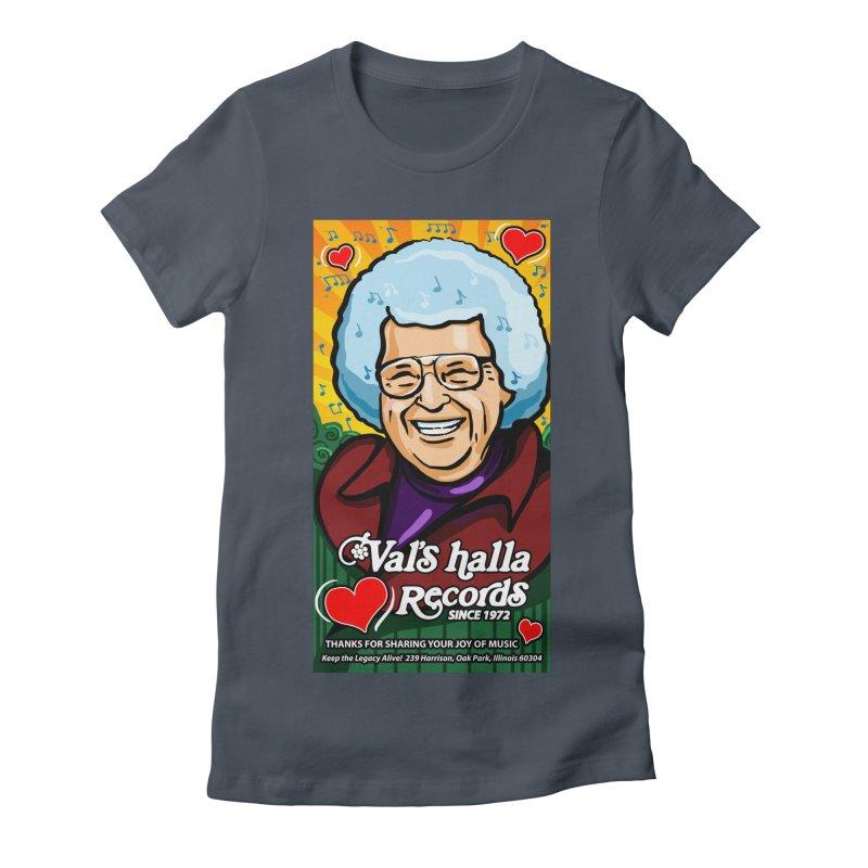 Val's Memorial Art Women's Fitted T-Shirt by Joe Abboreno's Artist Shop
