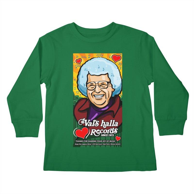Val's Memorial Art Kids Longsleeve T-Shirt by Joe Abboreno's Artist Shop