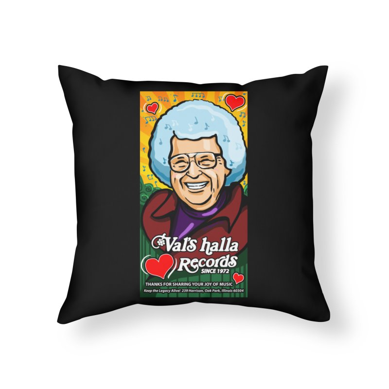 Val's Memorial Art Home Throw Pillow by Joe Abboreno's Artist Shop