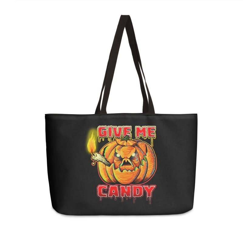 Give Me Candy Accessories Weekender Bag Bag by Joe Abboreno's Artist Shop