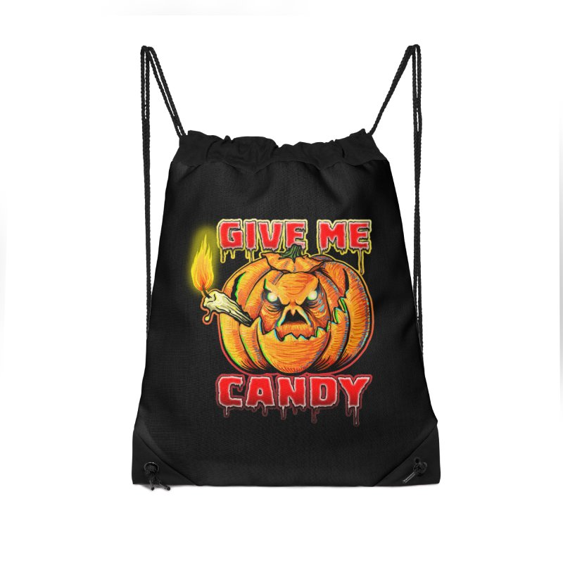 Give Me Candy Accessories Drawstring Bag Bag by Joe Abboreno's Artist Shop