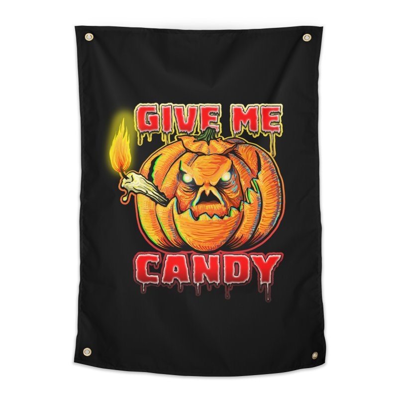 Give Me Candy Home Tapestry by Joe Abboreno's Artist Shop