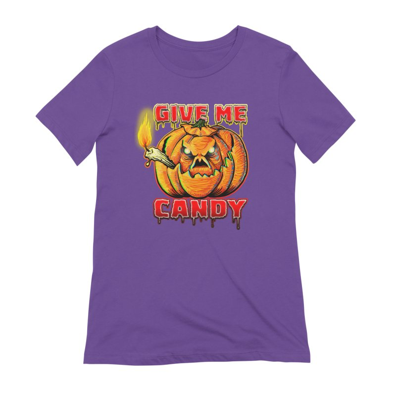 Give Me Candy Women's Extra Soft T-Shirt by Joe Abboreno's Artist Shop