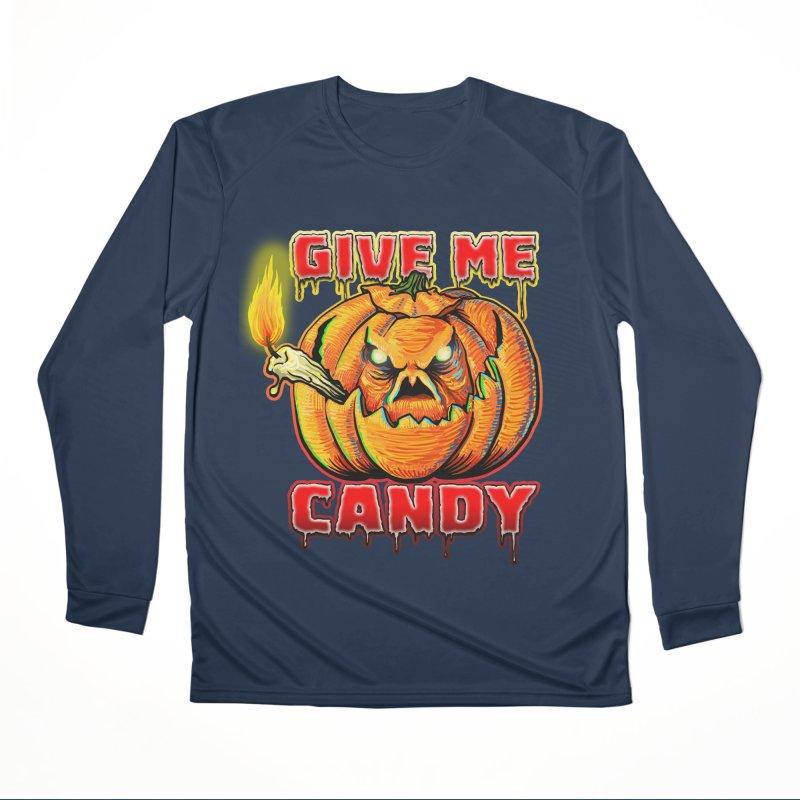 Give Me Candy Men's Performance Longsleeve T-Shirt by Joe Abboreno's Artist Shop
