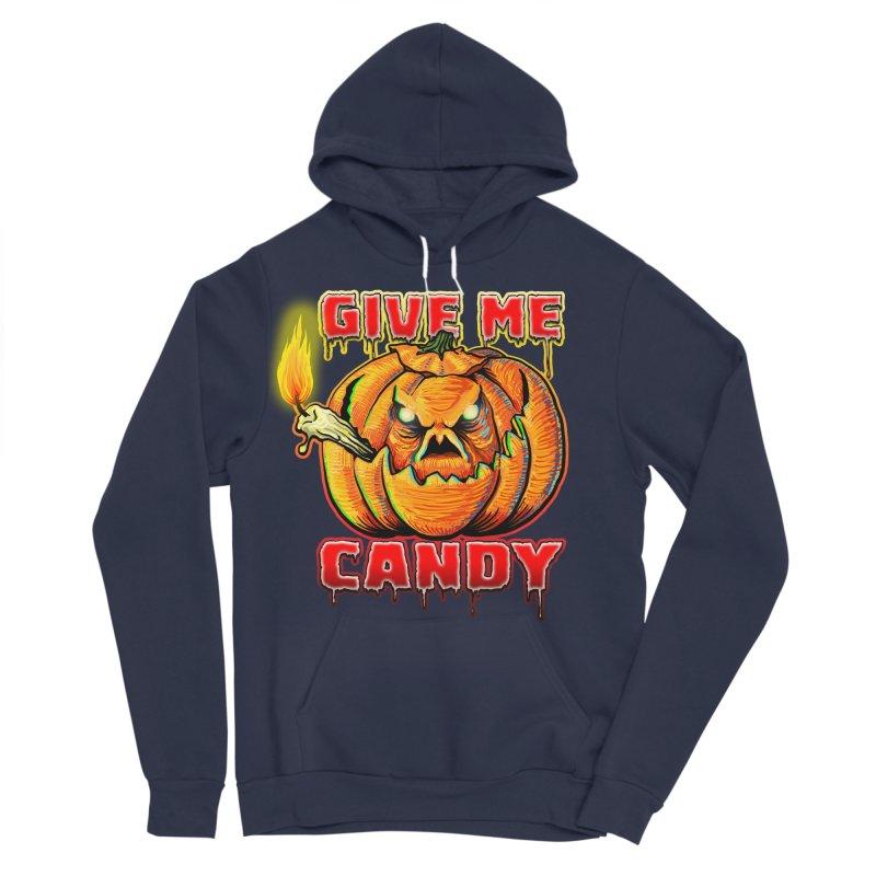 Give Me Candy Women's Sponge Fleece Pullover Hoody by Joe Abboreno's Artist Shop