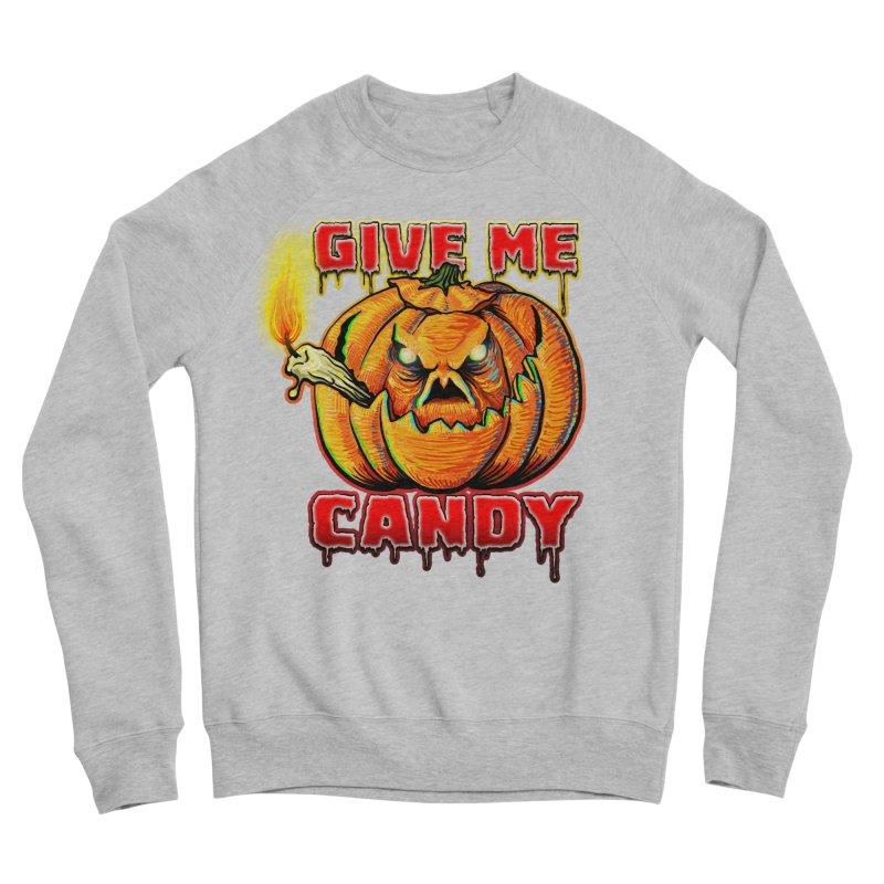 Give Me Candy Women's Sponge Fleece Sweatshirt by Joe Abboreno's Artist Shop