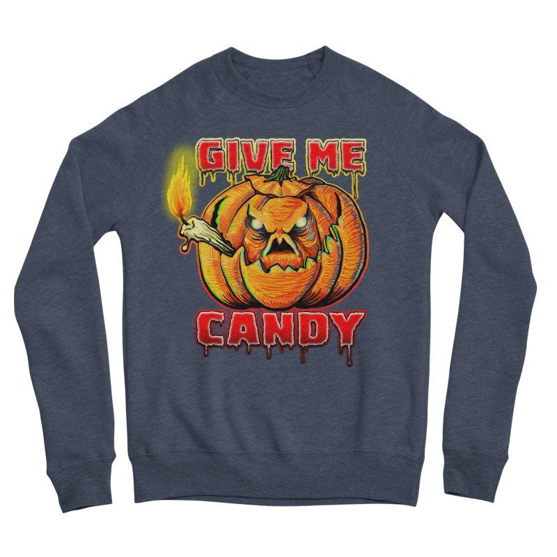 Give Me Candy Men's Sponge Fleece Sweatshirt by Joe Abboreno's Artist Shop