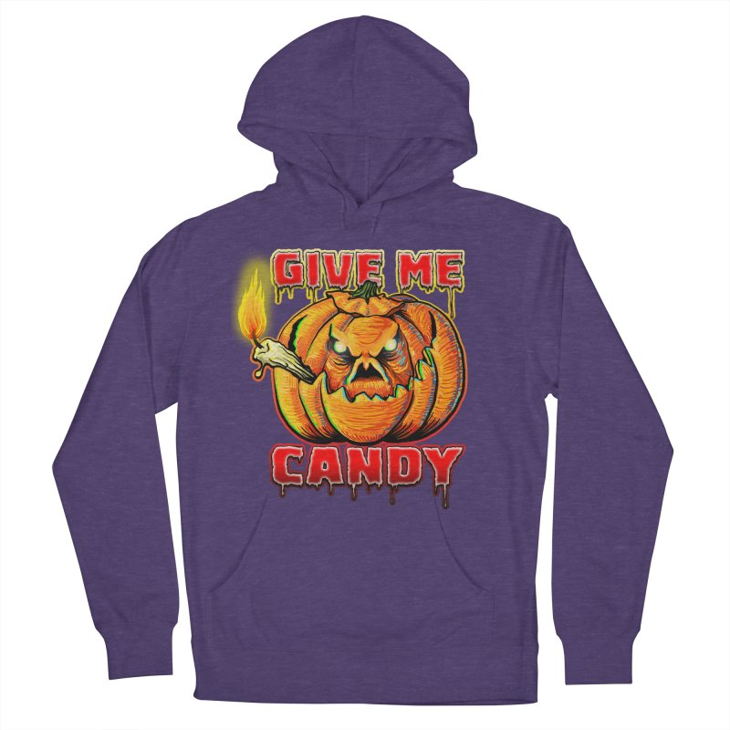 Give Me Candy Women's French Terry Pullover Hoody by Joe Abboreno's Artist Shop