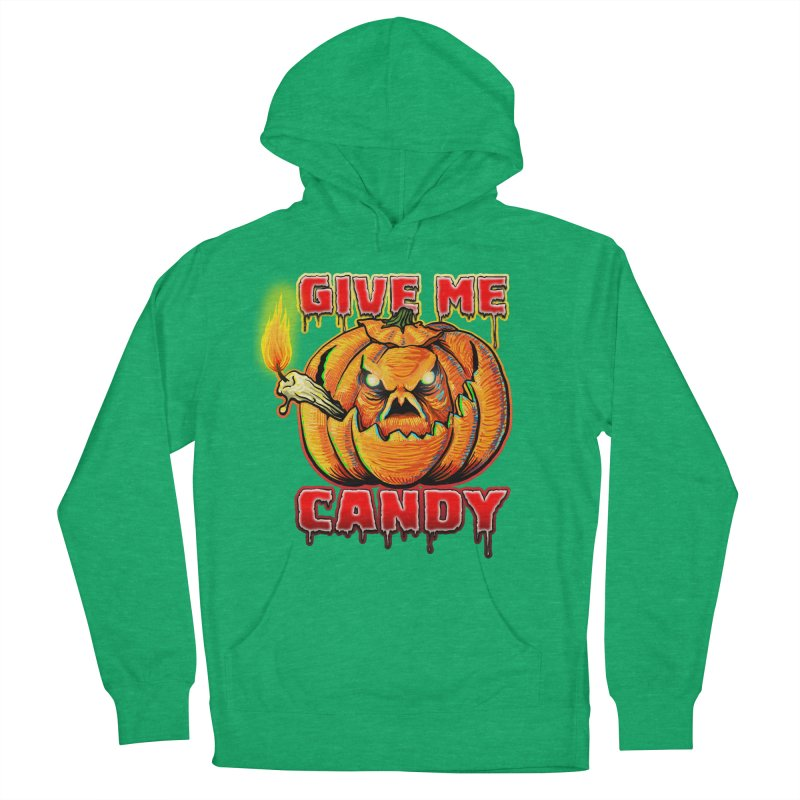 Give Me Candy Men's French Terry Pullover Hoody by Joe Abboreno's Artist Shop