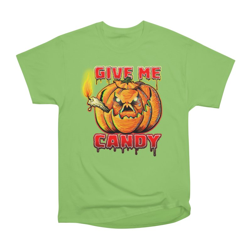 Give Me Candy Men's Heavyweight T-Shirt by Joe Abboreno's Artist Shop