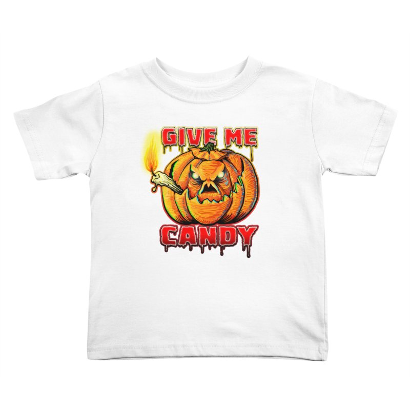 Give Me Candy Kids Toddler T-Shirt by Joe Abboreno's Artist Shop