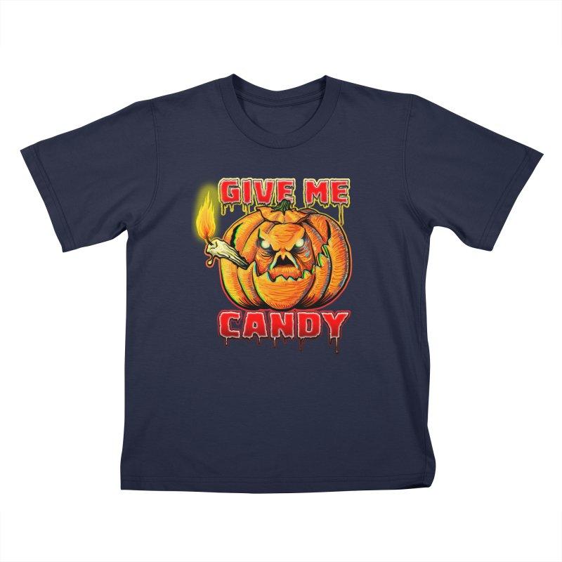 Give Me Candy Kids T-Shirt by Joe Abboreno's Artist Shop