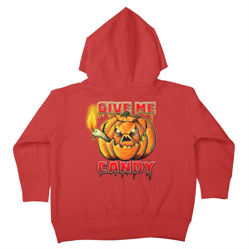 Give Me Candy Kids Toddler Zip-Up Hoody by Joe Abboreno's Artist Shop