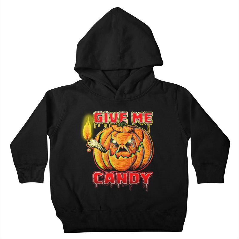Give Me Candy Kids Toddler Pullover Hoody by Joe Abboreno's Artist Shop