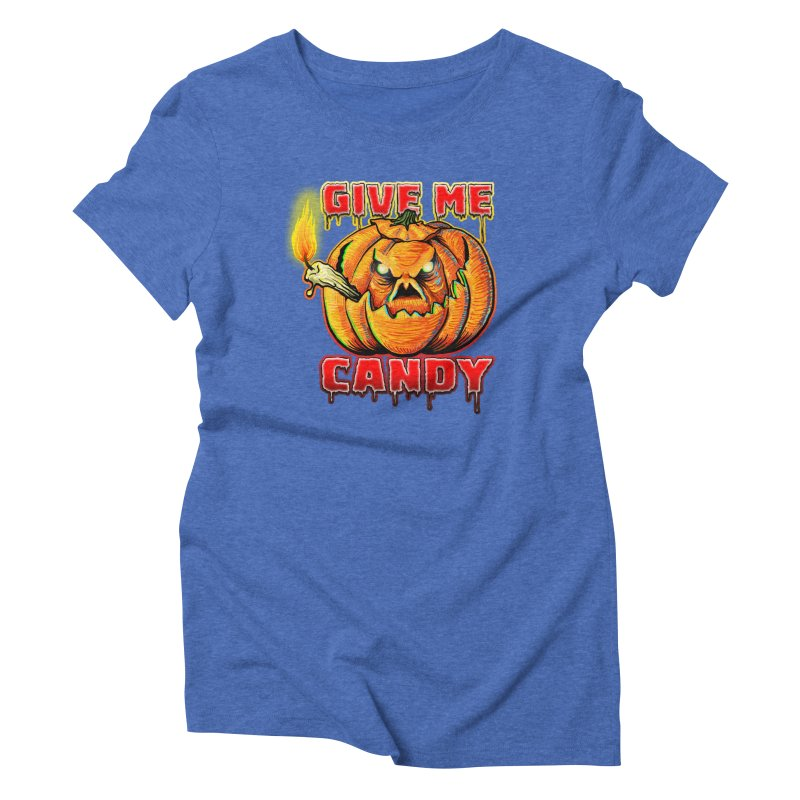 Give Me Candy Women's Triblend T-Shirt by Joe Abboreno's Artist Shop