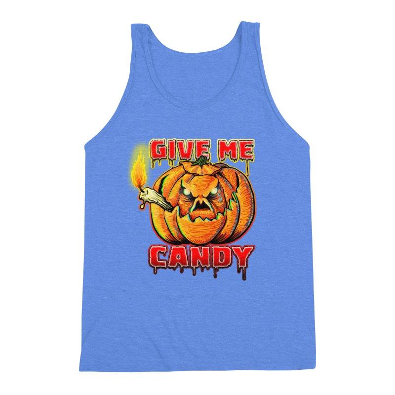 Give Me Candy Men's Triblend Tank by Joe Abboreno's Artist Shop