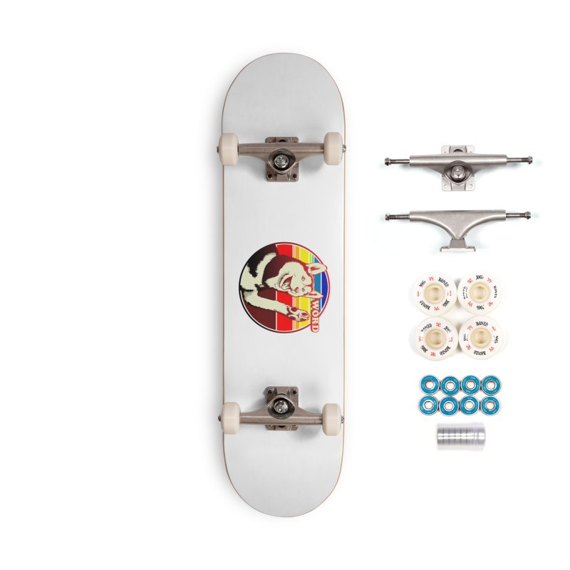 Word Dog Accessories Complete - Premium Skateboard by Joe Abboreno's Artist Shop