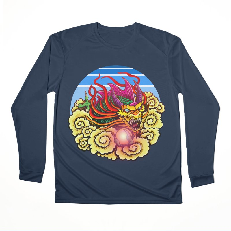 Air Dragon Women's Performance Unisex Longsleeve T-Shirt by Joe Abboreno's Artist Shop