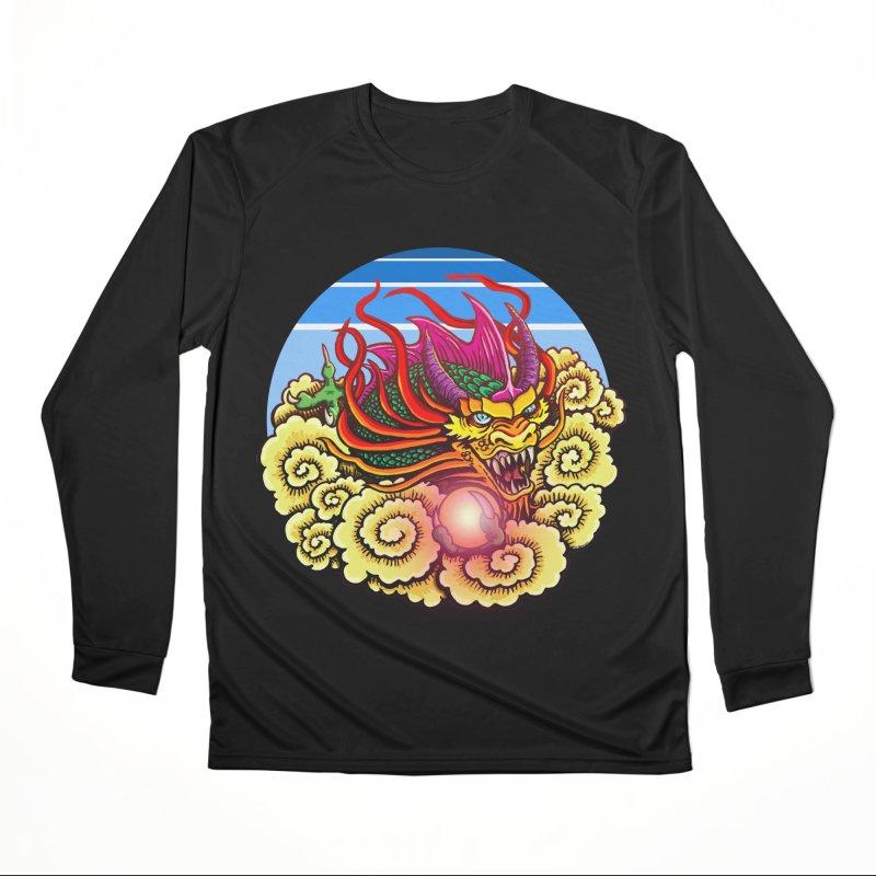 Air Dragon Men's Performance Longsleeve T-Shirt by Joe Abboreno's Artist Shop