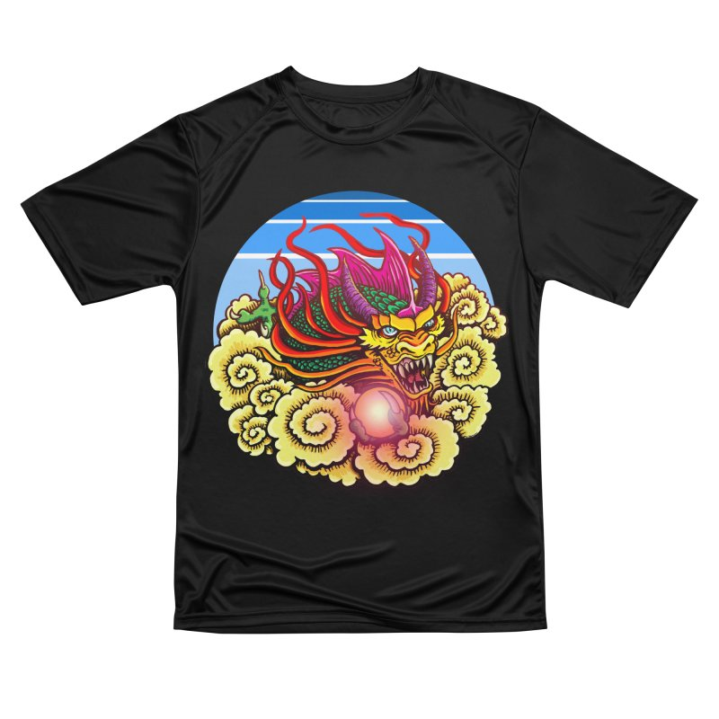Air Dragon Women's Performance Unisex T-Shirt by Joe Abboreno's Artist Shop