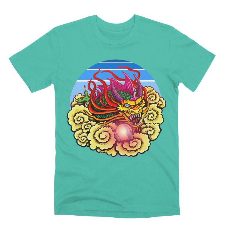 Air Dragon Men's Premium T-Shirt by Joe Abboreno's Artist Shop
