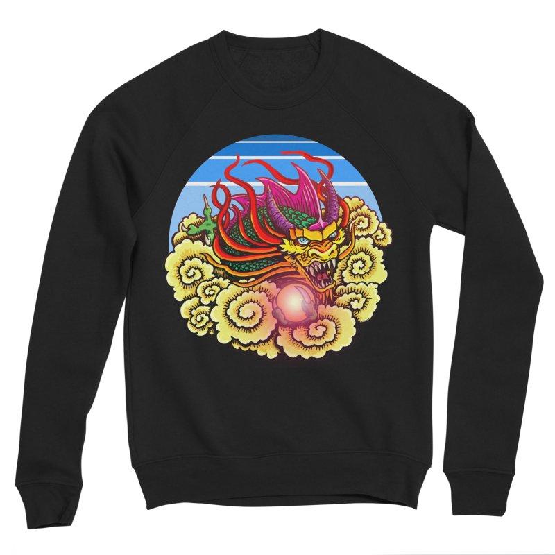 Air Dragon Women's Sponge Fleece Sweatshirt by Joe Abboreno's Artist Shop