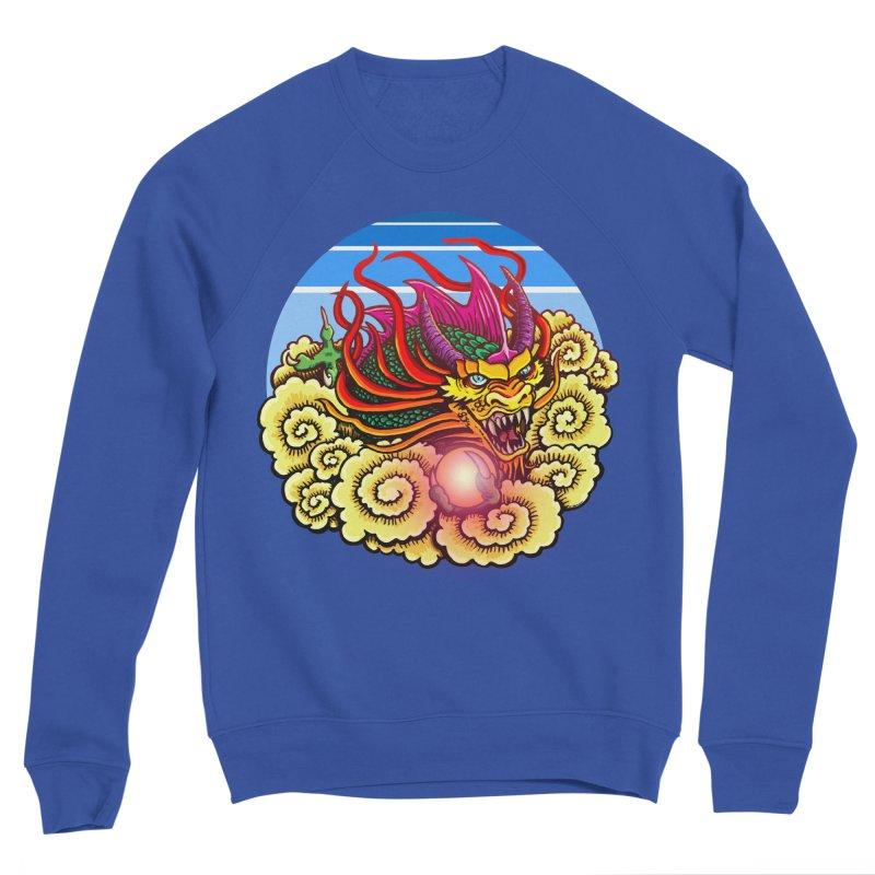 Air Dragon Men's Sponge Fleece Sweatshirt by Joe Abboreno's Artist Shop
