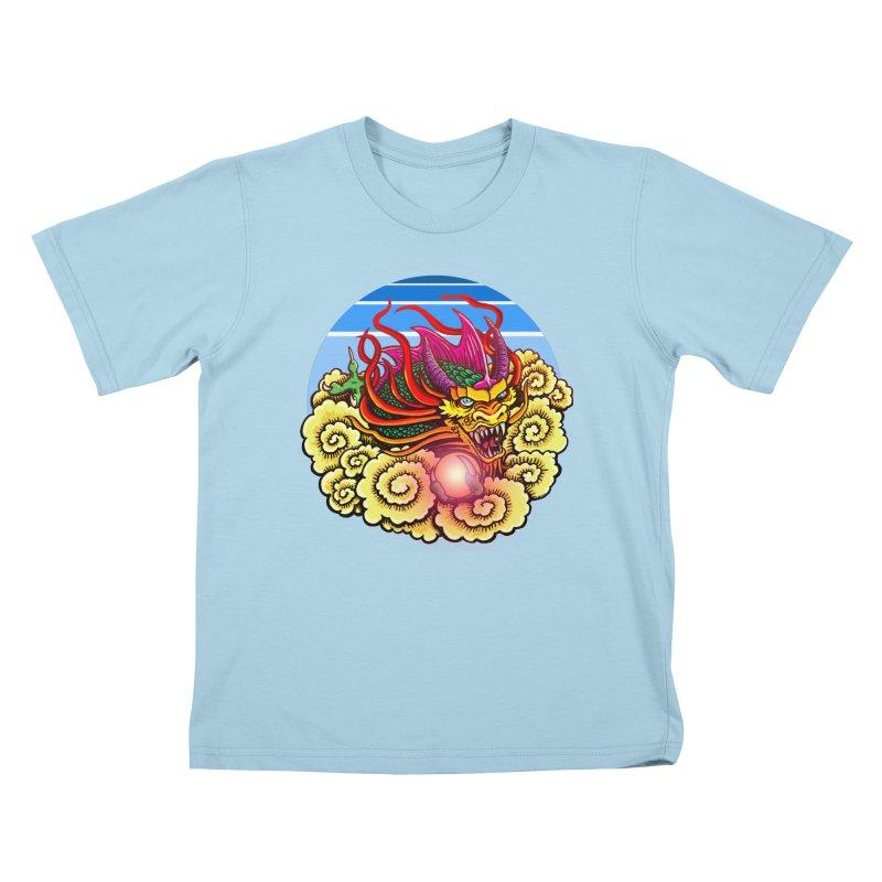 Air Dragon Kids T-Shirt by Joe Abboreno's Artist Shop